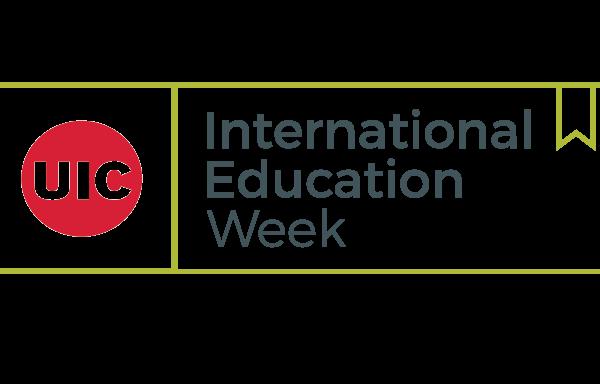 International Education Week logo.