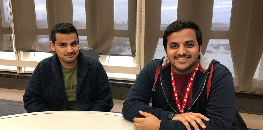 New international students participate in UIC Global orientation.