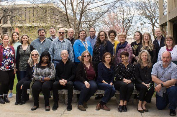 Tutorium staff posing as a group