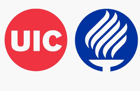 Tec de Monterrey and UIC logos