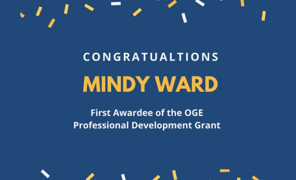Congratulations Mindy Ward